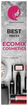 Ecomix cosmetics poster