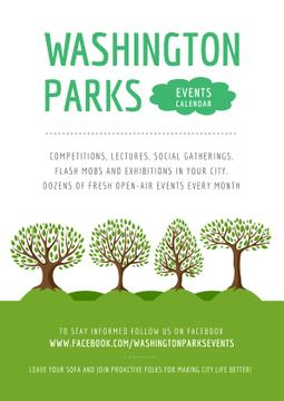 Events in Washington parks