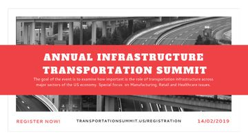 Annual infrastructure transportation summit