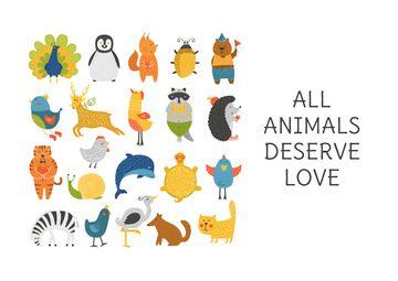 Animal Rights Concept Animals Icon