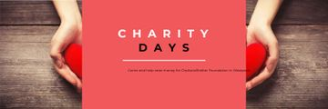 Charity Days poster