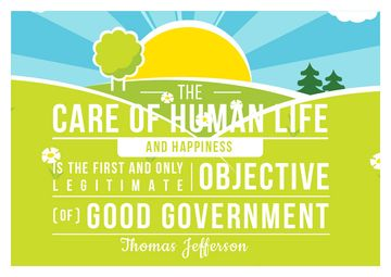 Citation about Care of human life