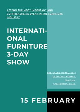 Furniture Show announcement Vase for home decor