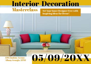 Interior decoration masterclass with Modern Room