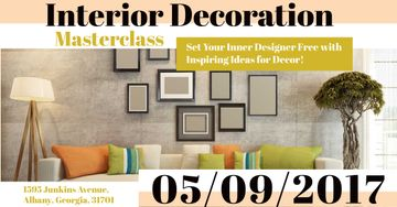 Interior decoration masterclass with Modern Room