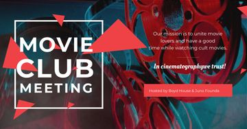 Movie club meeting Announcement