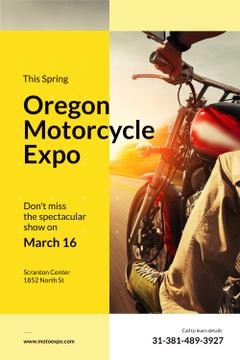 Oregon motorcycle exhibition