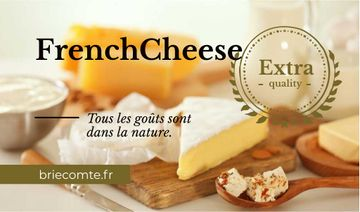 French Cheese Advertisement