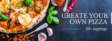 Offer to Create your own Pizza