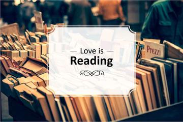 Love is reading Bookstore Offer