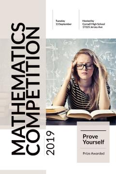 Mathematics competition Announcement