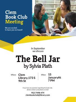 Book Club Promotion with Students