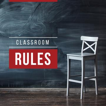 Classroom rules with Chair