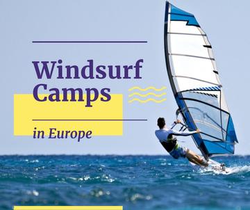 Windsurfing Tour Offer Man Riding Board