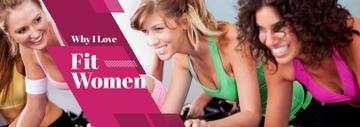 Sport Inspiration Women Training in Gym