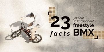 Facts about freestyle bmx