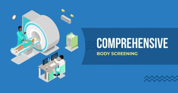 Comprehensive body screening illustration