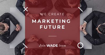 Inspiration Quote Marketing Team at Meeting