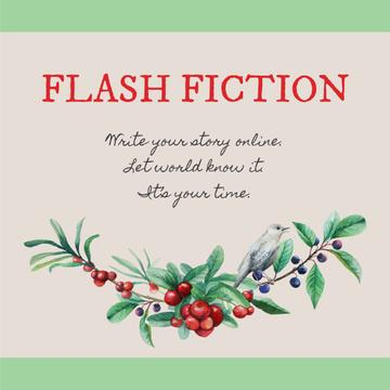 Flash fiction Inspiration with Tree branch