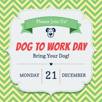 Dog to work day Announcement