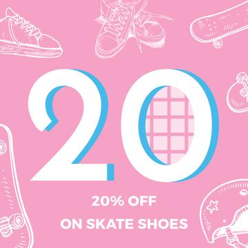 Skate Shoes Sale Advertisement
