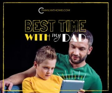 Family time poster