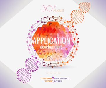 Application development event announcement