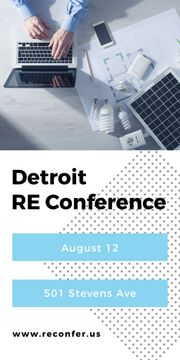 RE conference banner