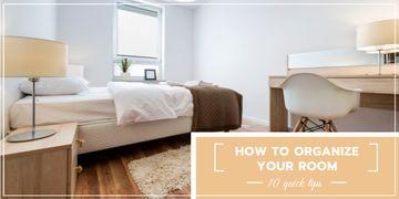 Organizing room tips
