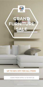 Grand furniture sale poster