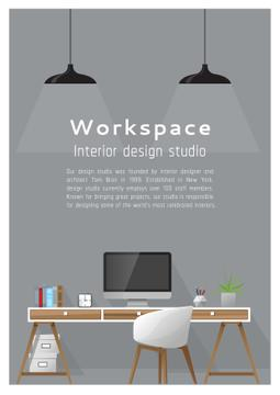 Interior design poster