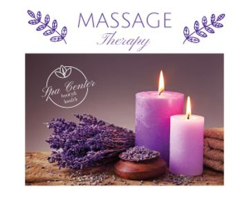 Massage therapy advertisement