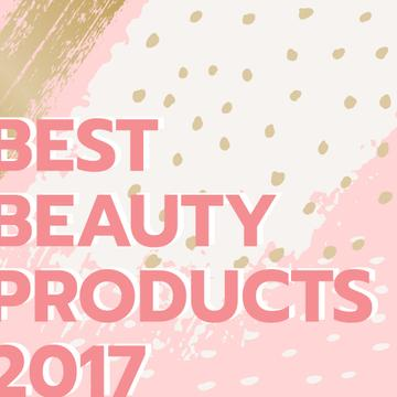 Beauty products guide in pink