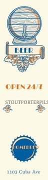 Home brew beer banner