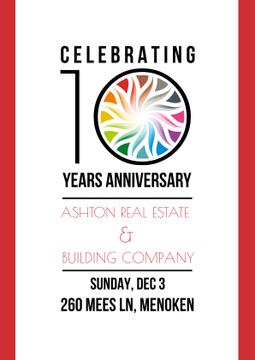 Celebrating Anniversary Invitation