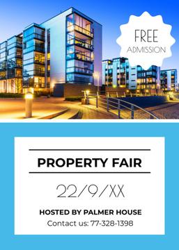 Property Fair Ad Modern House Facade