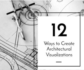 Architectural visualizations banner