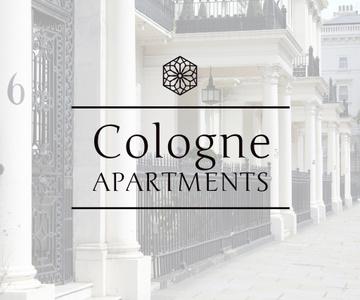 Cologne apartments advertisement