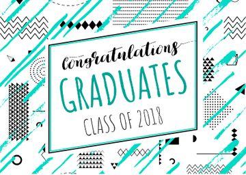 Congratulations Graduates in Blue