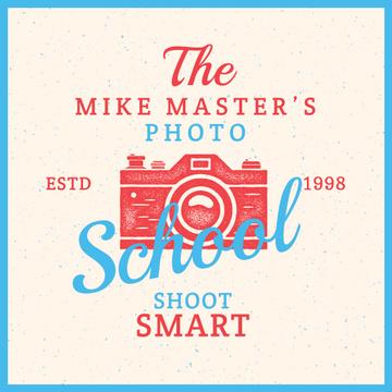 Photo school Vintage Advertisement