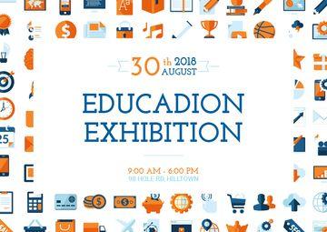 Education exhibition announcement