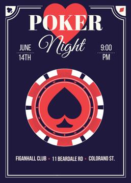 Poker night tournament night