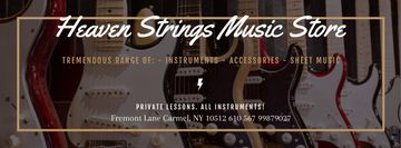 Music Store Special Offer