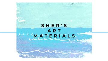 Sher's Art materials shop