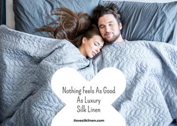 Luxury silk linen website