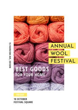 Annual wool festival Annoucement