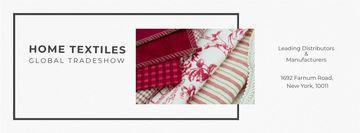 Home Textiles Event Announcement