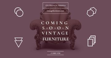 Coming soon vintage furniture shop