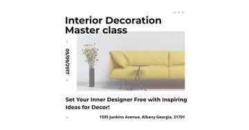 Interior decoration masterclass
