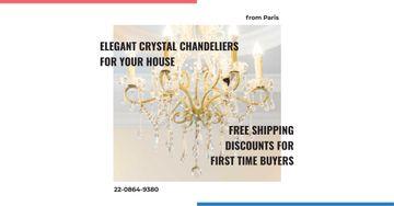 Elegant crystal chandeliers shop
